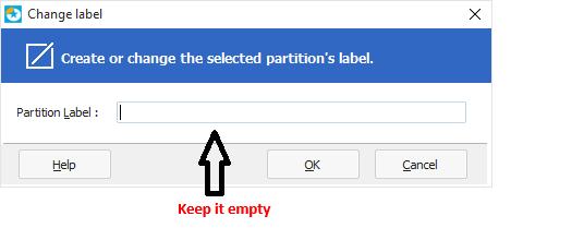 Remove Label