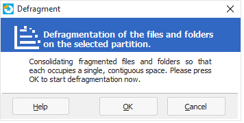 Defragmentation explanation