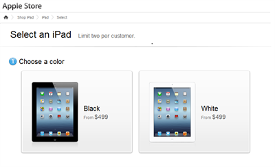 How to pre-order or book Apple iPad 3 online?