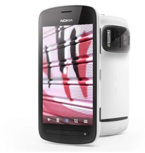 Nokia PureView 808 smartphone with 41MP
