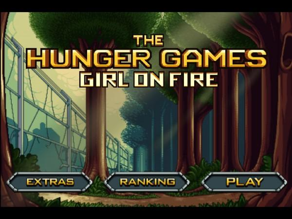 Hunger games: Girl on Fire logo