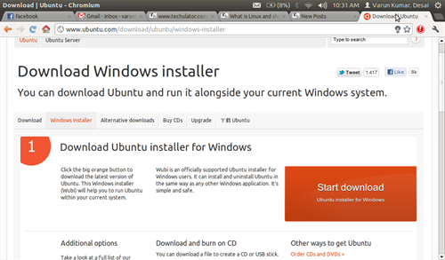 Windows Installer for Ubuntu