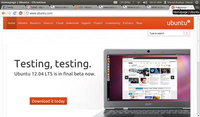 Download Ubuntu 12.04