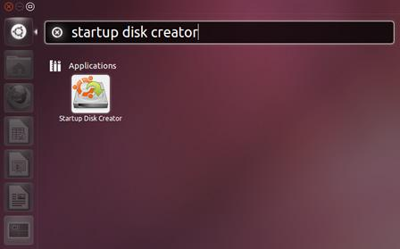 Startup Disk Creator in USB