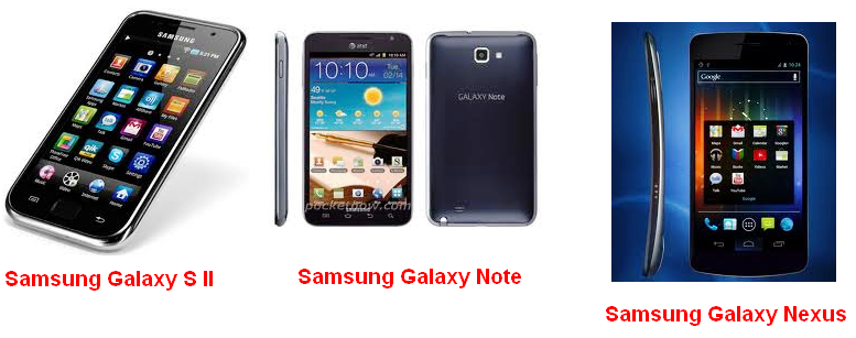 High speed Samsung Galaxy Android Phones