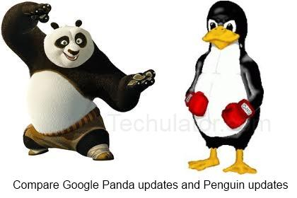 Google Panda vs Google Penguin