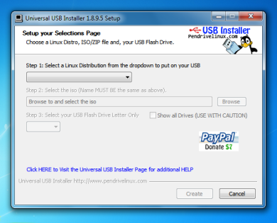How to make a bootable USB pen drive on Windows