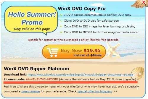 Free DVD Ripper - Winx DVD Ripper Platinum