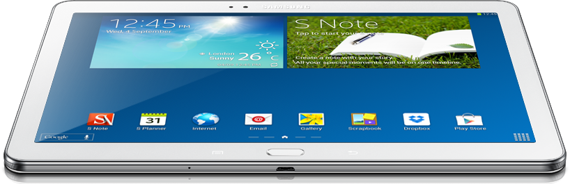 Samsung Galaxy Note 10.1 (2014 Edition) - feature