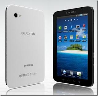 Samsung Galaxy 7 inch Touch Screen