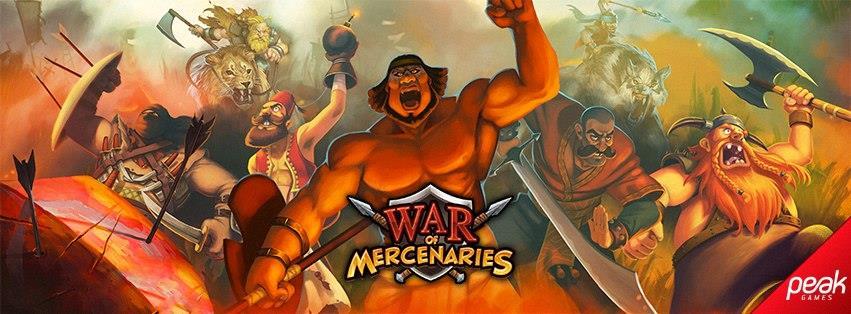 War of Mercenaries logo