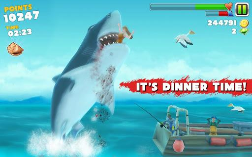 Screen shot of Hungry Shark Evolution Android