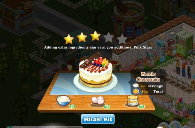 Dessert Shop screen2
