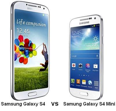 samsung galaxy s4 vs samsung galaxy s4 mini features. Black Bedroom Furniture Sets. Home Design Ideas