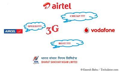 3G data plans in Chennai