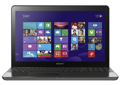 Sony VAIO Fit 15 touch laptop - a Windows 8 gaming laptop