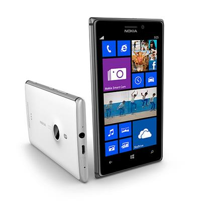 Lumia 925 front and back