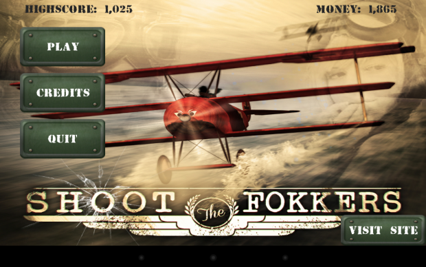 Shoot the Fokkers- A gyroscope based shooting game for Android users