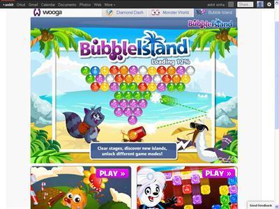 Bubble-island