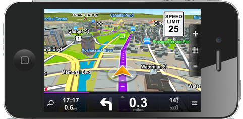 Review Of Sygic GPS Application For IPhones - Sygic gps review