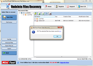 MiniTool Power Data Recovery photos