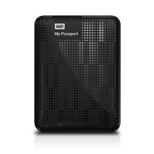 Western Digital My Passport 1TB USB 3.0 External Hard Drive - Black