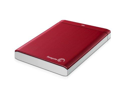 Seagate Backup Plus 1 TB USB 3.0 Portable External Hard Drive STBU1000103 (Red)