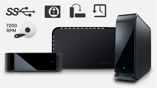 BUFFALO DriveStation Axis Velocity 1TB USB 3.0 External Hard Drive (HD-LX1.0TU3)