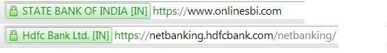 Secured symbol in web site