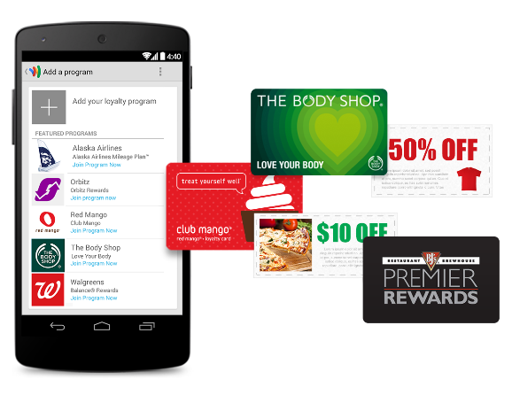 Features of Google Wallet service