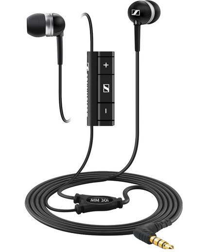 Sennheiser MM 30i Ear Canal In-Ear Headphone with Mic