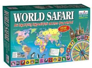 Best educational board map games for children below 10 years world safari map board game gumiabroncs Gallery