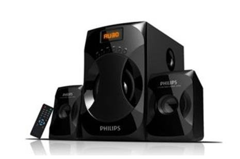 PHILIPS 2.1 SPEAKERS Multimedia S4040