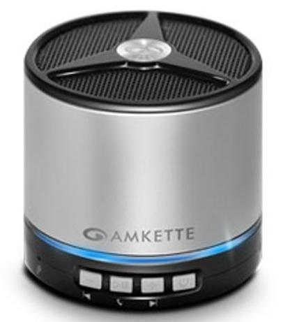Amkette Tru Beats Bluetooth Speaker Metal