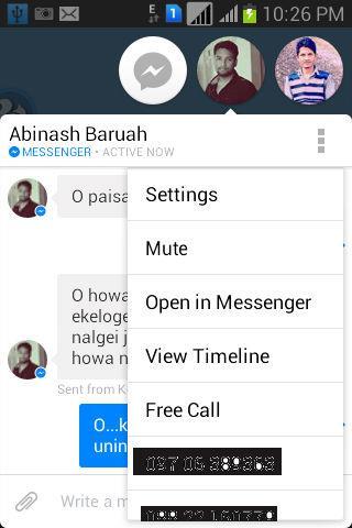 call messenger