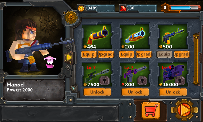 AE CoC Zombie weapons