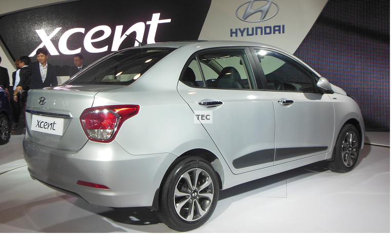 Review and features of 2014 Hyundai Xcent