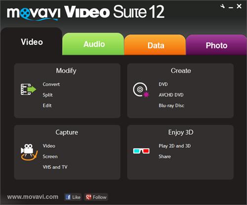 Movavi Video converter screenshot1