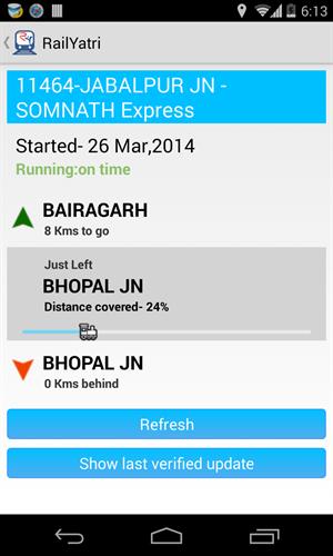 GPS Train Locator