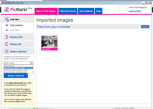 PicMarkr Pro screenshot 1