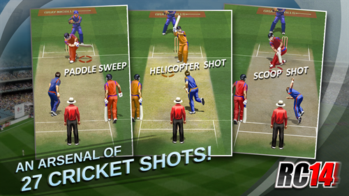 Real Cricket 14 banner 2