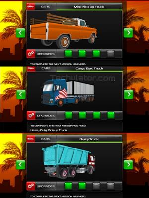 American Truck Windows Phone game vehicles