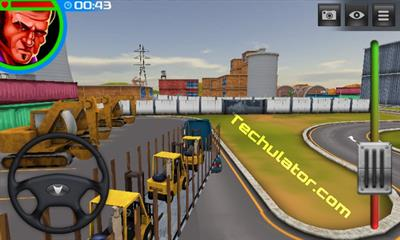 American Truck forklift delivery mission