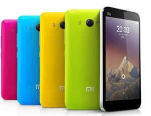 The Xiaomi Mi2 smartphone