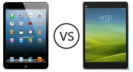 Xiaomis MiPad vs Apples iPad