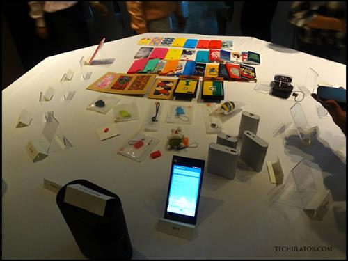 Xiaomi products on display