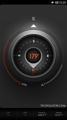 Xiaomi mi3 compass features