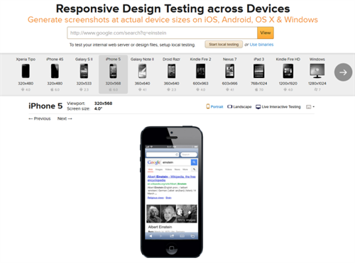 Responsive feature