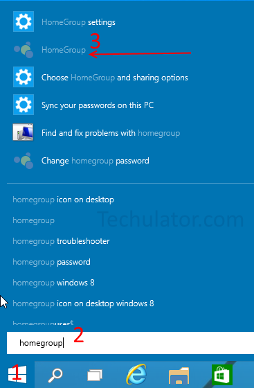 Join Homegroup in Windows 10