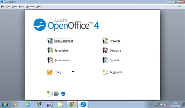 Open Office and Microsoft Word Powerpoint?